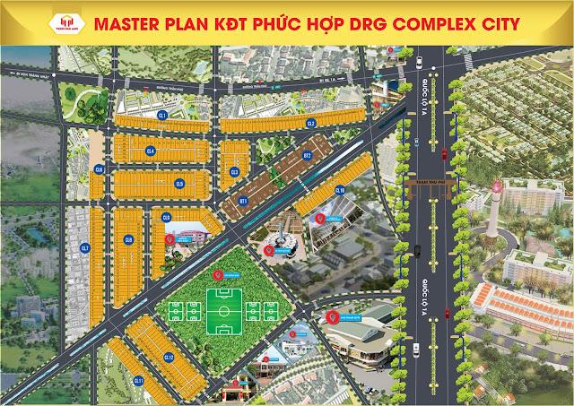 Khu đô thị trung tâm hành chính phường Điện Thắng Trung