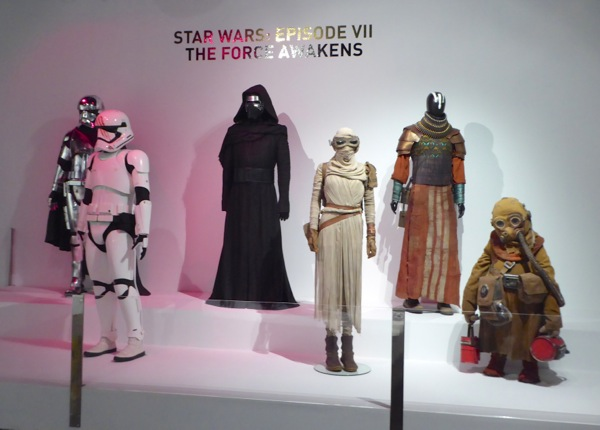 Star Wars Force Awakens costume exhibit FIDM Museum