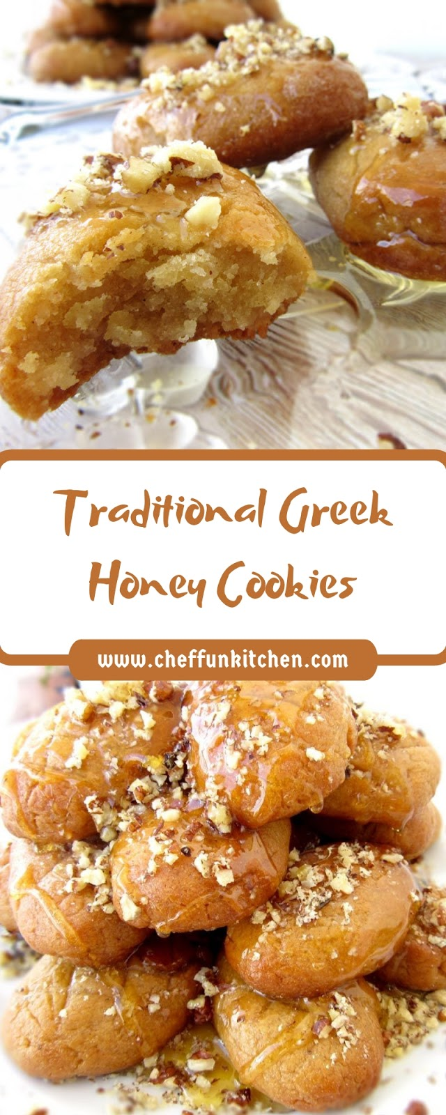 Traditional Greek Honey Cookies