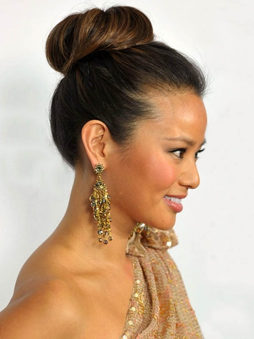 African American Hairstyles Trends and Ideas : Cute Bun ...