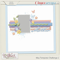 Template : May Template Challenge 1 by Kristmess Designs