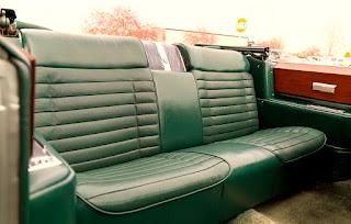 1966 Cadillac Eldorado Cabriolet Green Seat Rear