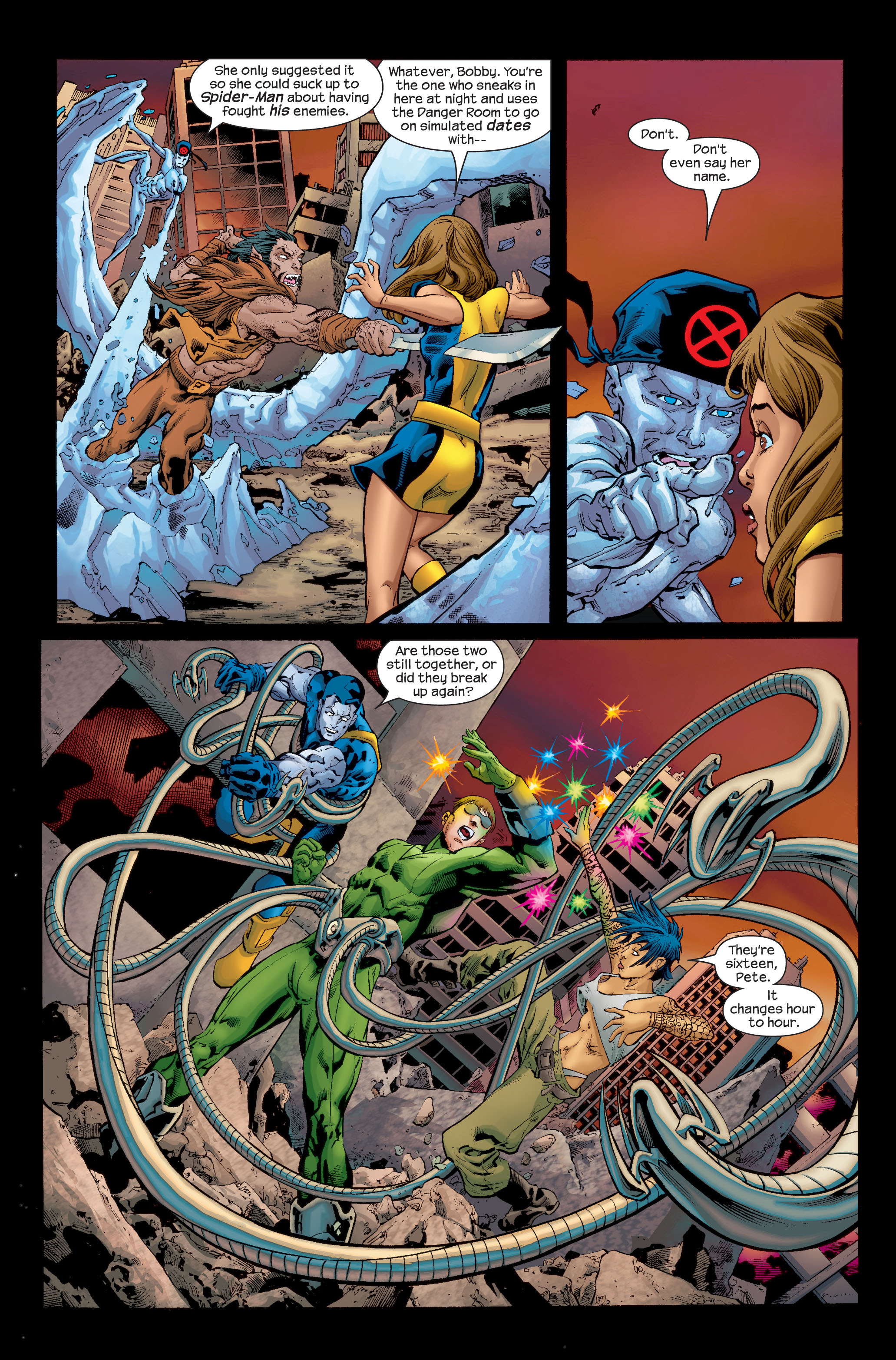 Read online Ultimate X-Men comic -  Issue # _Annual 1 - 5