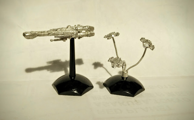 Jovian Chronicles Fleet Scale Wraith Fighters