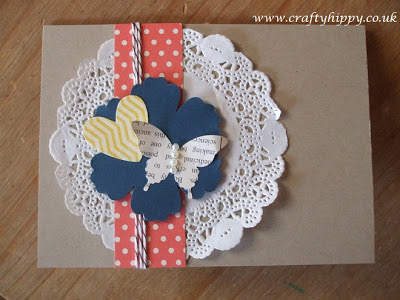 Stampin' Up! Paper Doilies, Sunshine and Sprinkles, Tea for Two