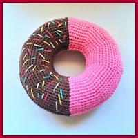 Donut gigante amigurumi