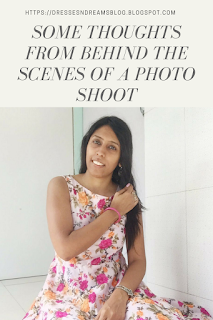 Some Thoughts from Behind the Scenes of a Photo Shoot