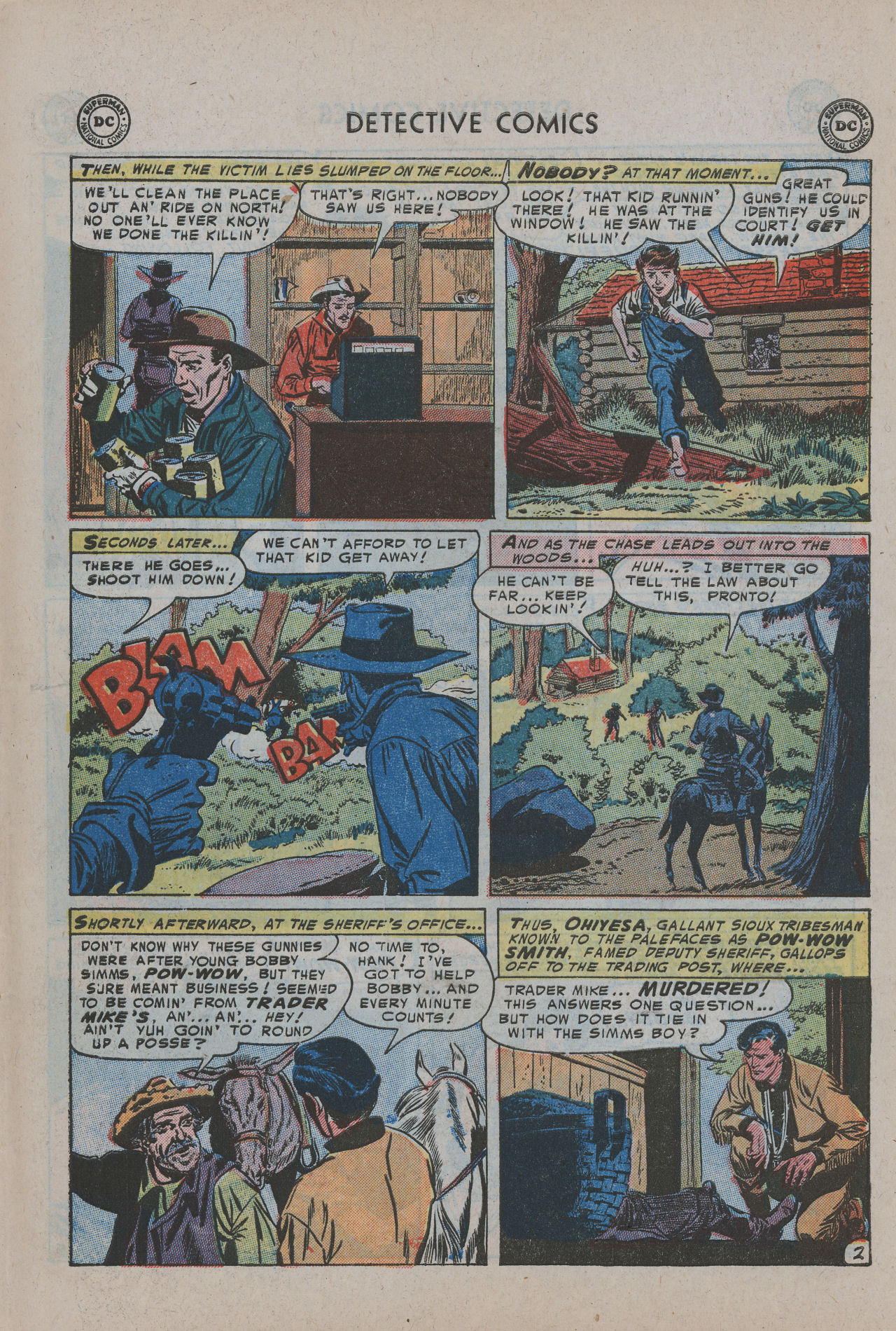 Read online Detective Comics (1937) comic -  Issue #200 - 36