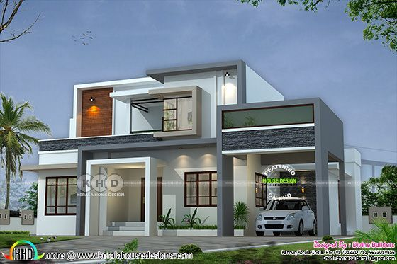 2516 square feet house cost estimated cost ₹47 lakhs