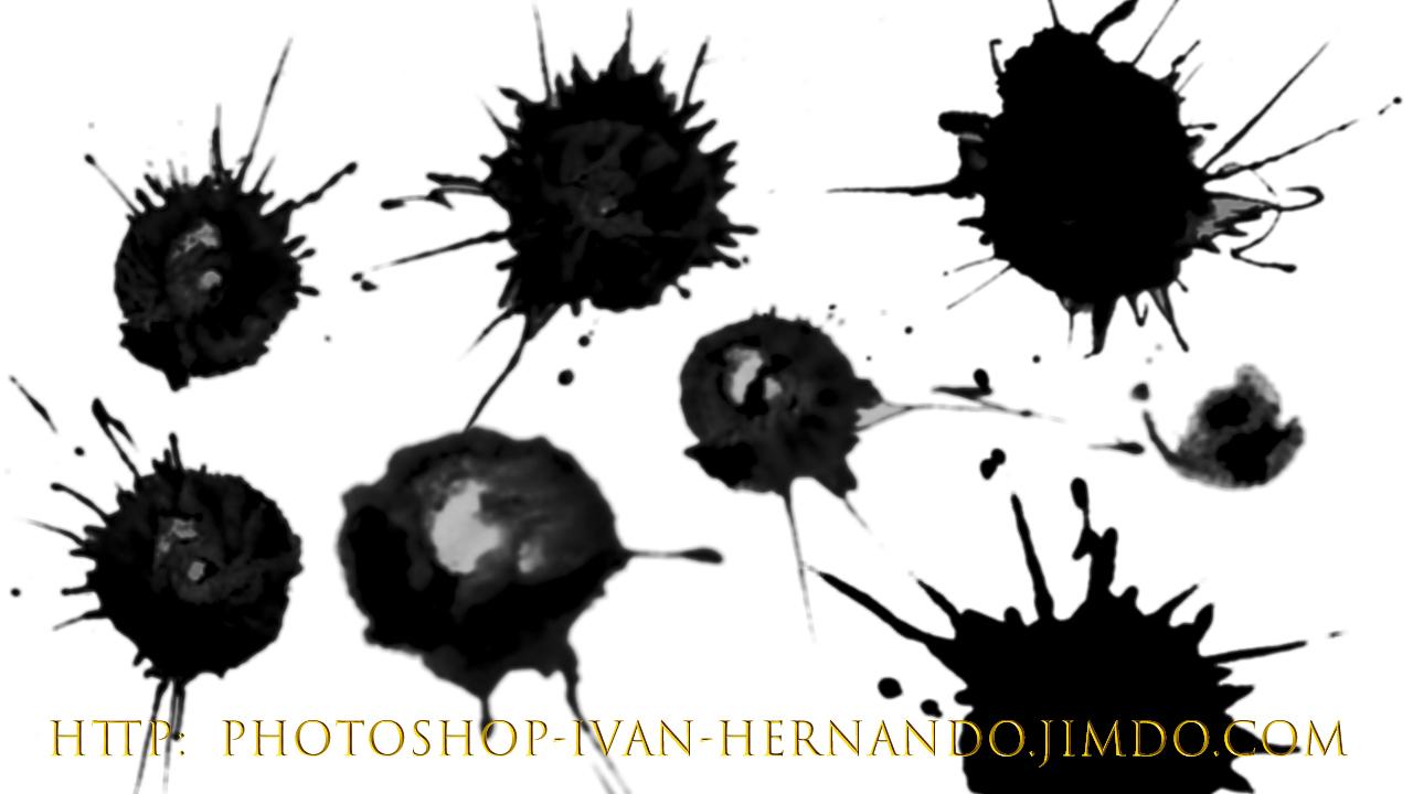 Pinceles photoshop ayuda photoshop facil - Salpicaduras de pintura ...