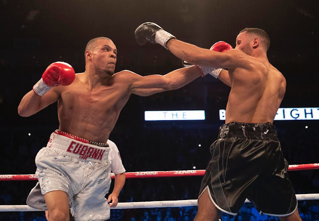 Chris Eubank Jr defeats James DeGale on