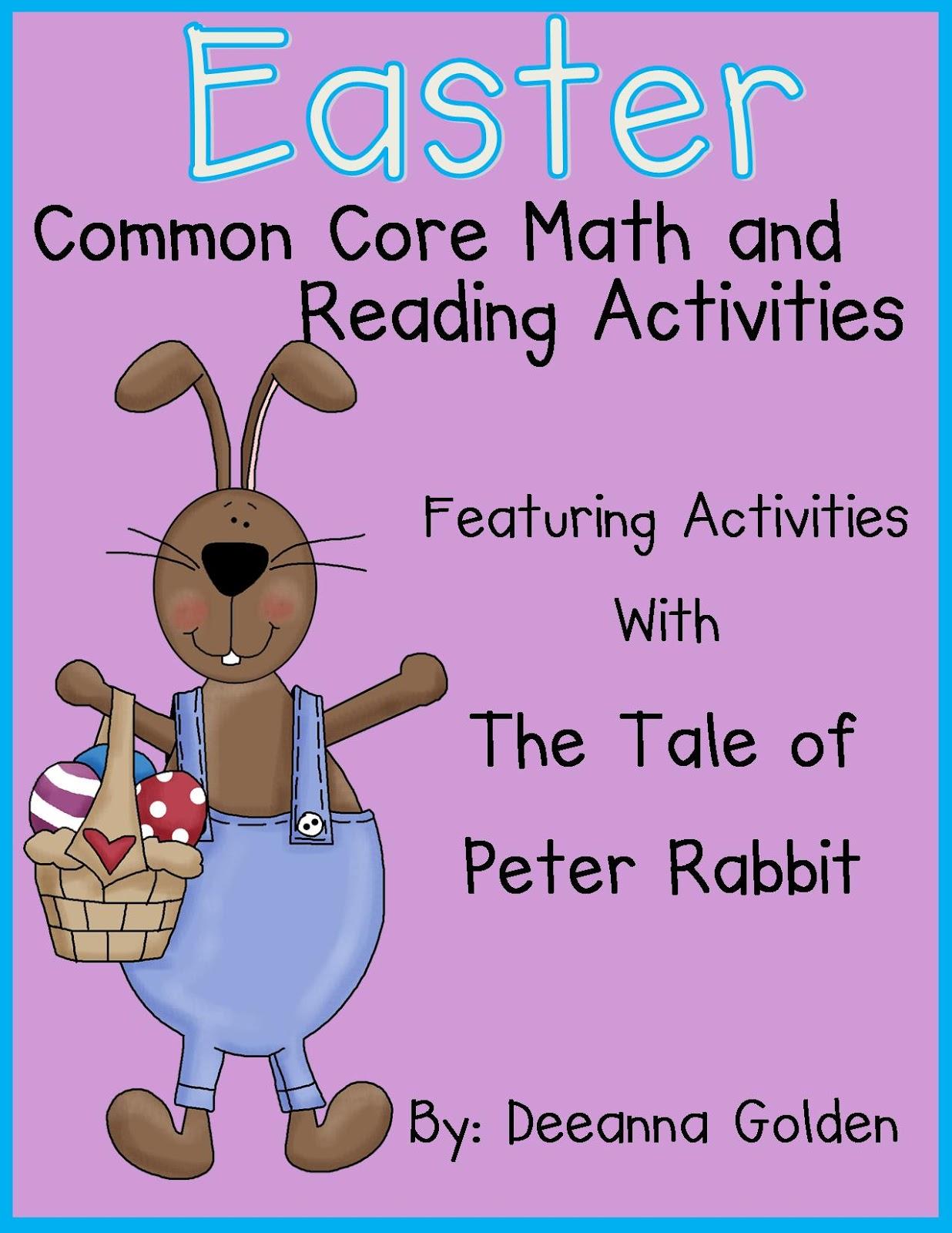 Golden Gang Kindergarten Cause And Effect With Peter Rabbit
