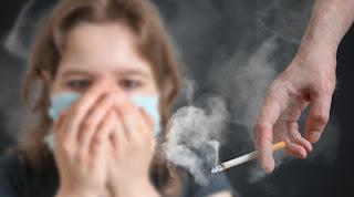 التدخين السلبي مزعج للآخرين