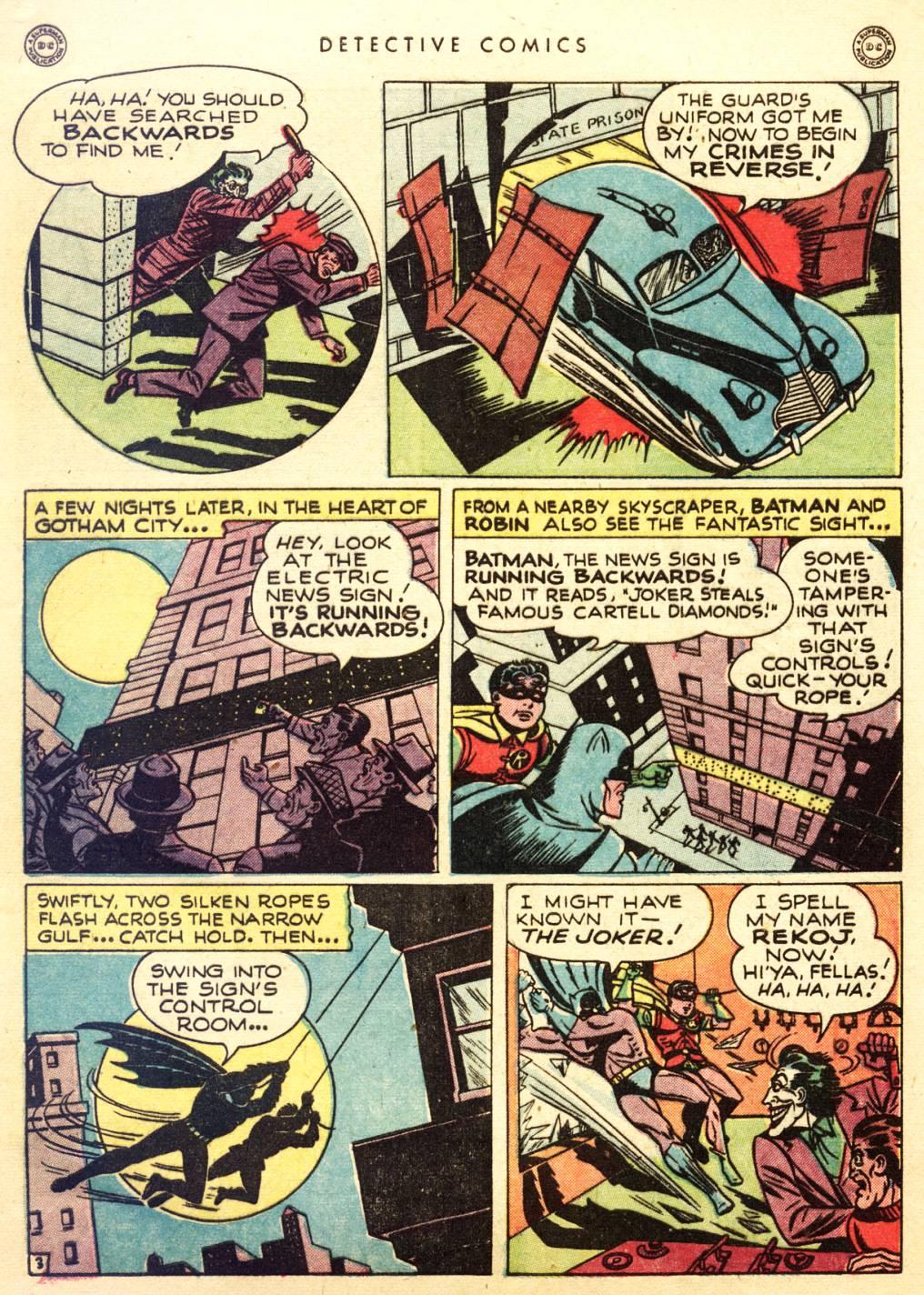 Read online Detective Comics (1937) comic -  Issue #128 - 5