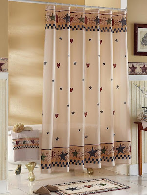 Western Themed Shower Curtains