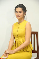 Taapsee Pannu looks mesmerizing in Yellow for her Telugu Movie Anando hma motion poster launch ~  Exclusive 007.JPG