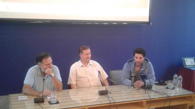 """Ο Θεατρικός Όμιλος Ερμιονίδας παρουσίασε στο Ναύπλιο το Πρόγραμμα του φετινού Φεστιβάλ """"Ερμηνείες στην Ερμιονίδα"""""""