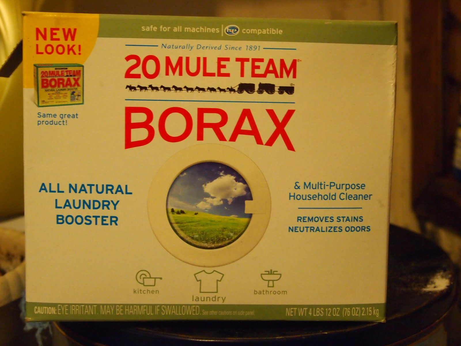 Borax Natural Remedy
