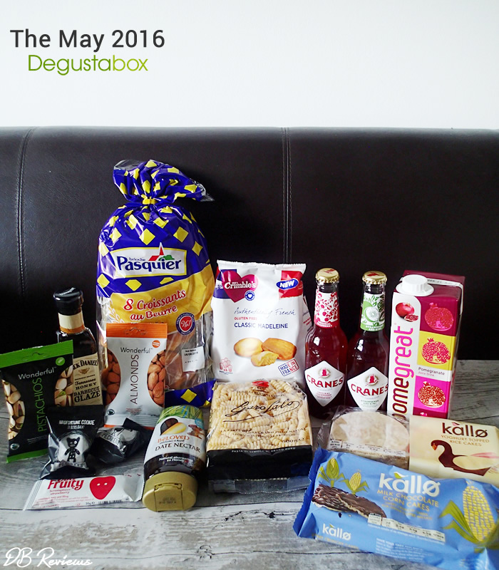 May 2016 Degustabox