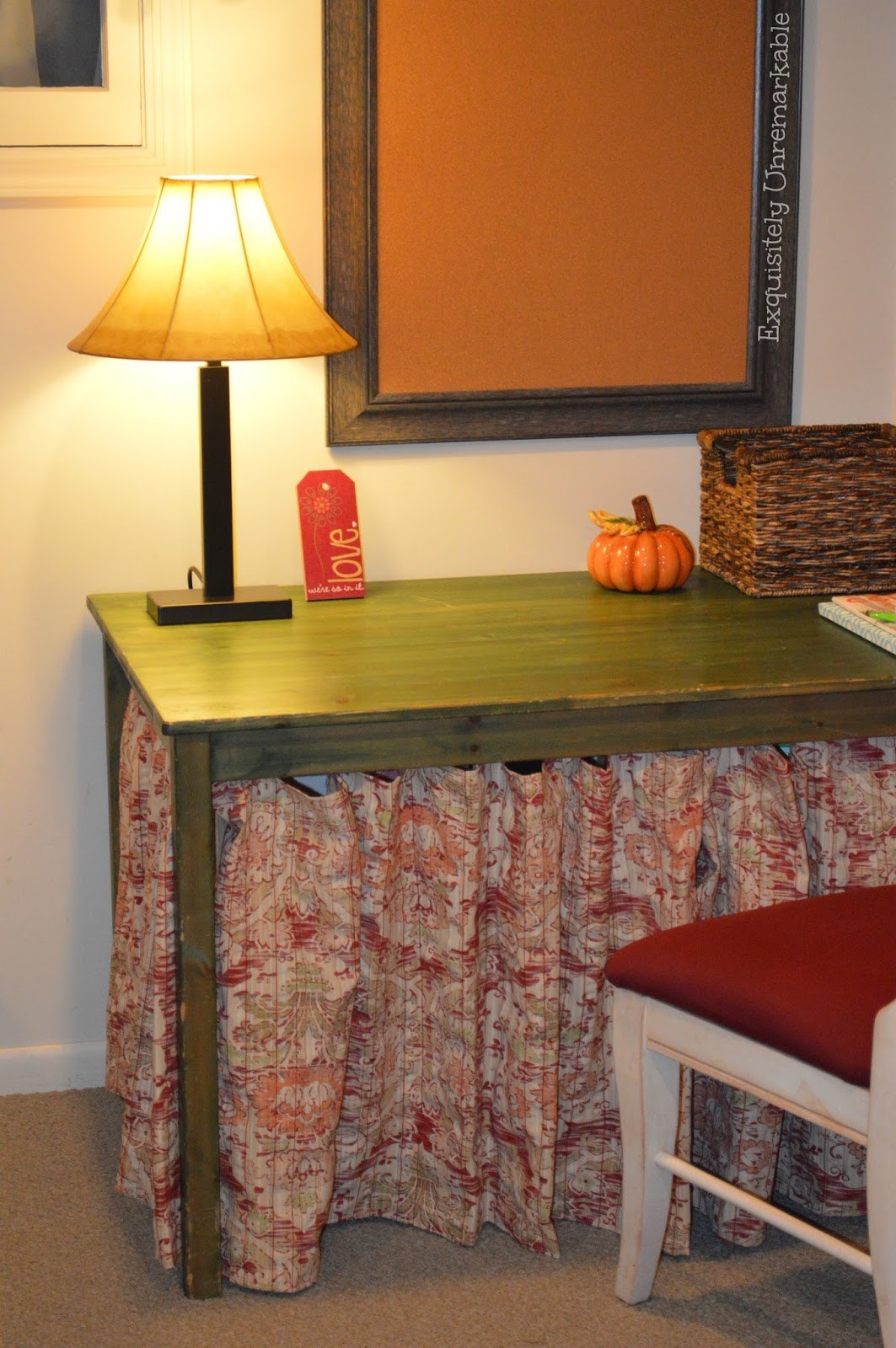 Skirted Table DIY