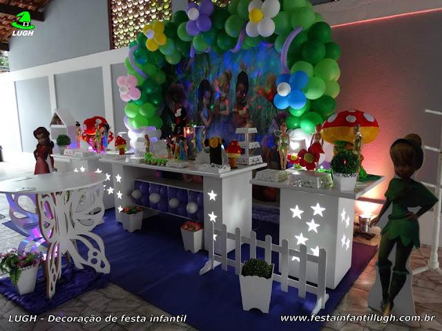 Decoração infantil tema Tinker Bell - Provençal luxo