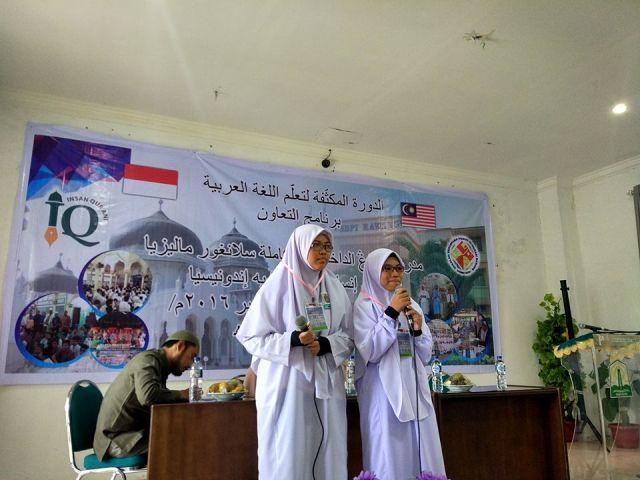 Pelajar Malaysia Terkesan Belajar Bahasa Arab di Aceh