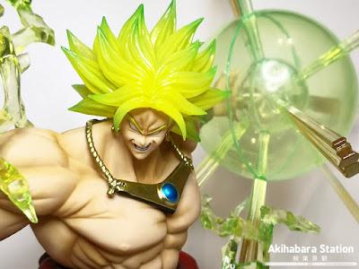 Figuarts ZERO Super Saiyan Broly de Dragon Ball Z - Tamashii Nations