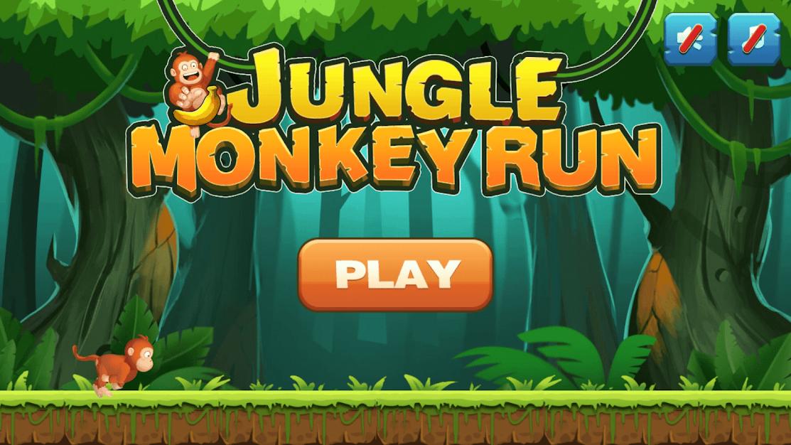 تحميل لعبة Jungle Monkey Run