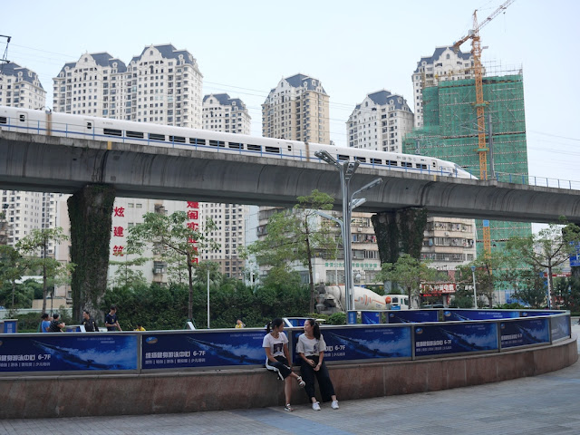 high speed rail train in Zhuhai