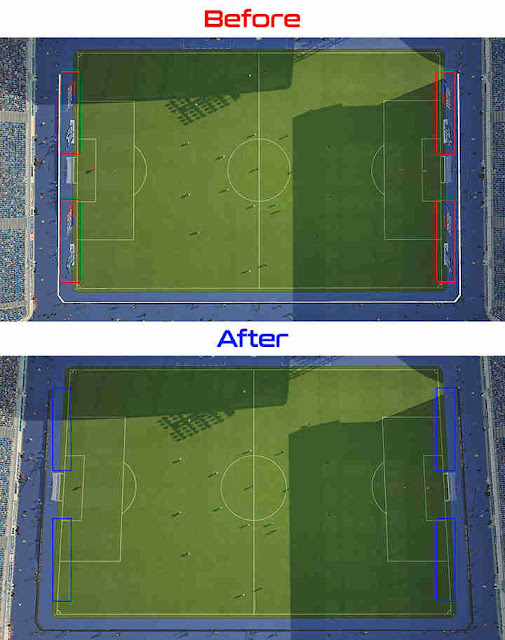 PES 2019 All My Club / PES League Cam Carpets Removed by Hawke