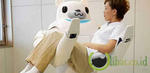 Robot RIBA ( Menggendong Pasien Rumah Sakit )