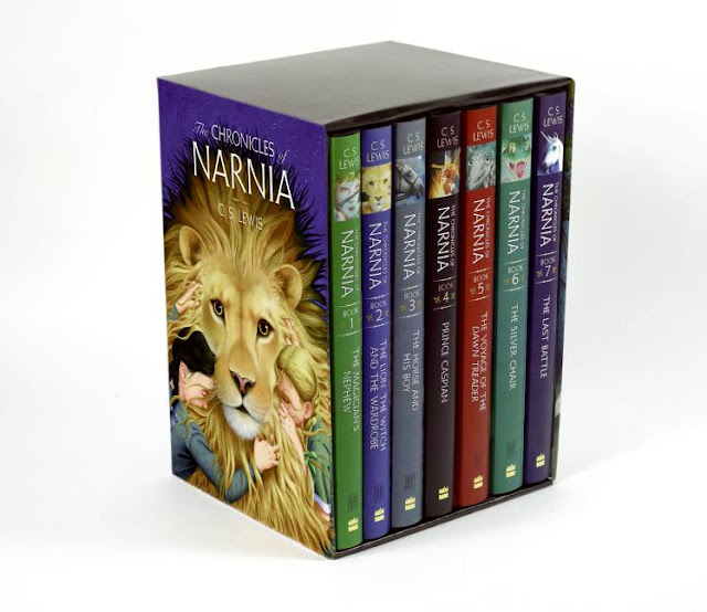 The Chronicles of Narnia boxset books