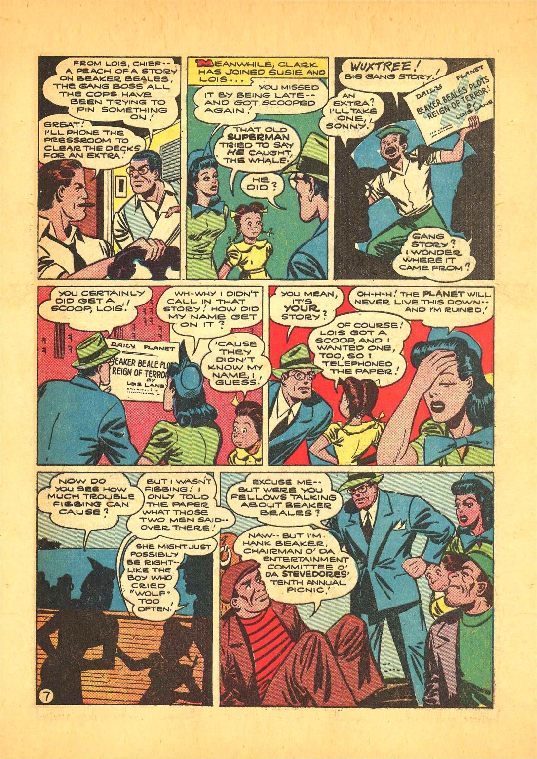 Read online Action Comics (1938) comic -  Issue #68 - 8