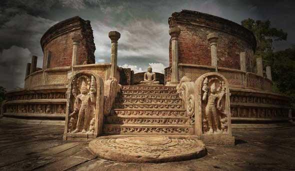 polonnaruwa sri lanka kota tua bersejarah