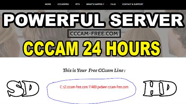 حصريا موقع خرافي للحصول على سيرفر سيسكام Best server cccam-free