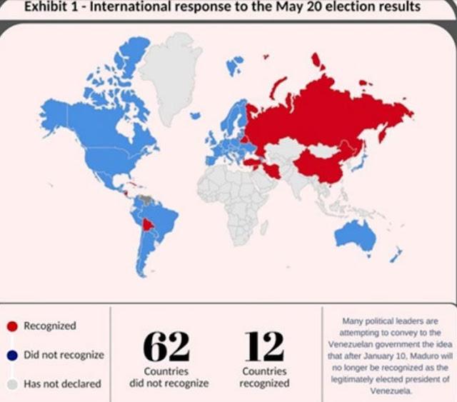 Qué pasará entre el régimen de Maduro y el mundo a partir del 10 de enero