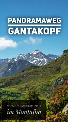 Panoramaweg Gantakopf | Wandern im Montafon