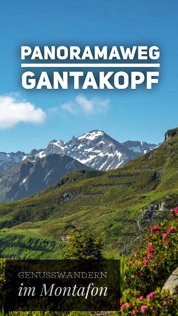 Panoramaweg Gantakopf   Wandern im Montafon