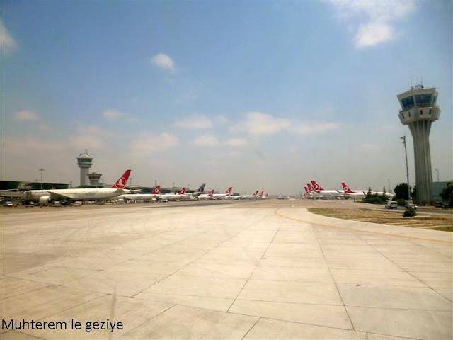 atatürk havaalanı apron