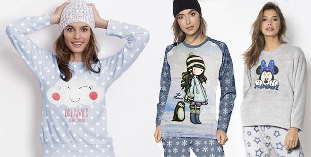 Pijamas y batas mujer