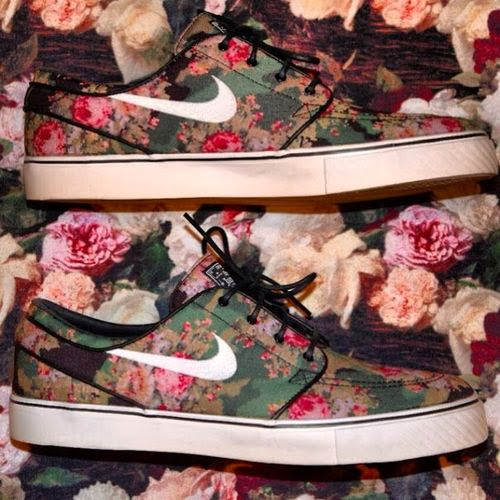 Leopard Print Nike Shoes White