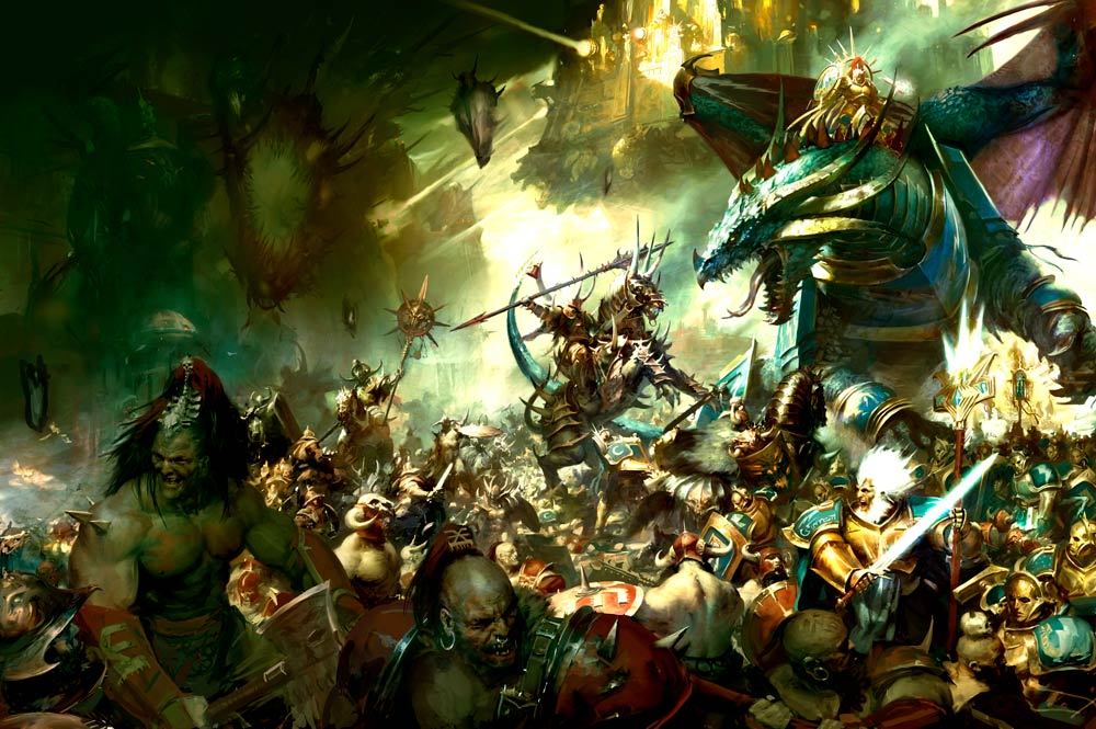 Rumor: Age of Sigmar Boxset Revealed Plus More on the New Edition