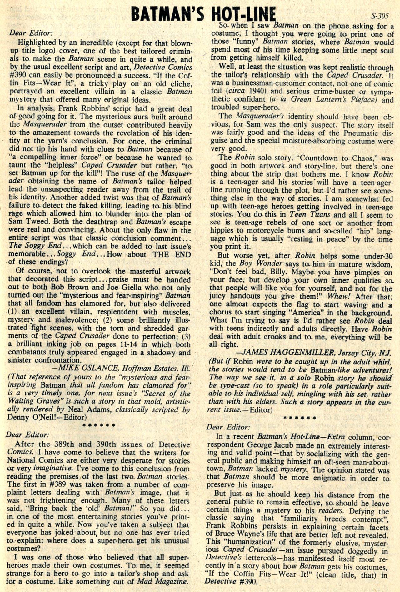 Detective Comics (1937) 394 Page 31