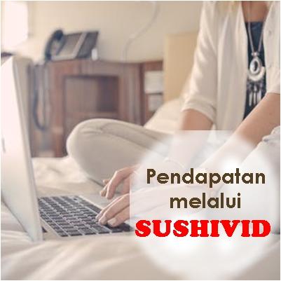 Cash-out pendapatan di SUSHIVID
