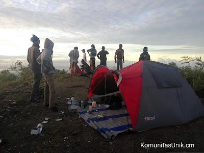 Camp Tenda Pendakian Gunung Kelud via mBlitar Timur