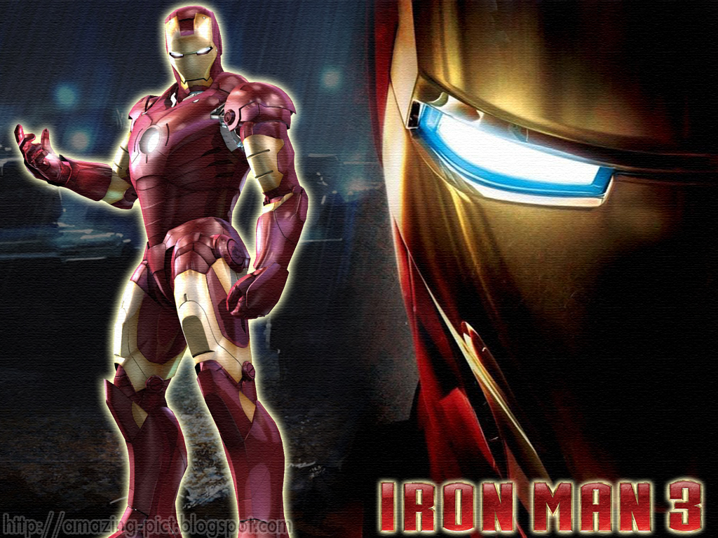 Amazing Picture Iron Man 3 Wallpapers Hd Desktop