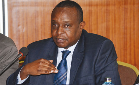 Treasury CS Henry Rotich. PHOTO | FILE