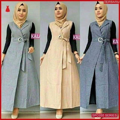 SCP055K56 Kalani Outer Fashion Muslim Dress Muslim Wanita | BMGShop