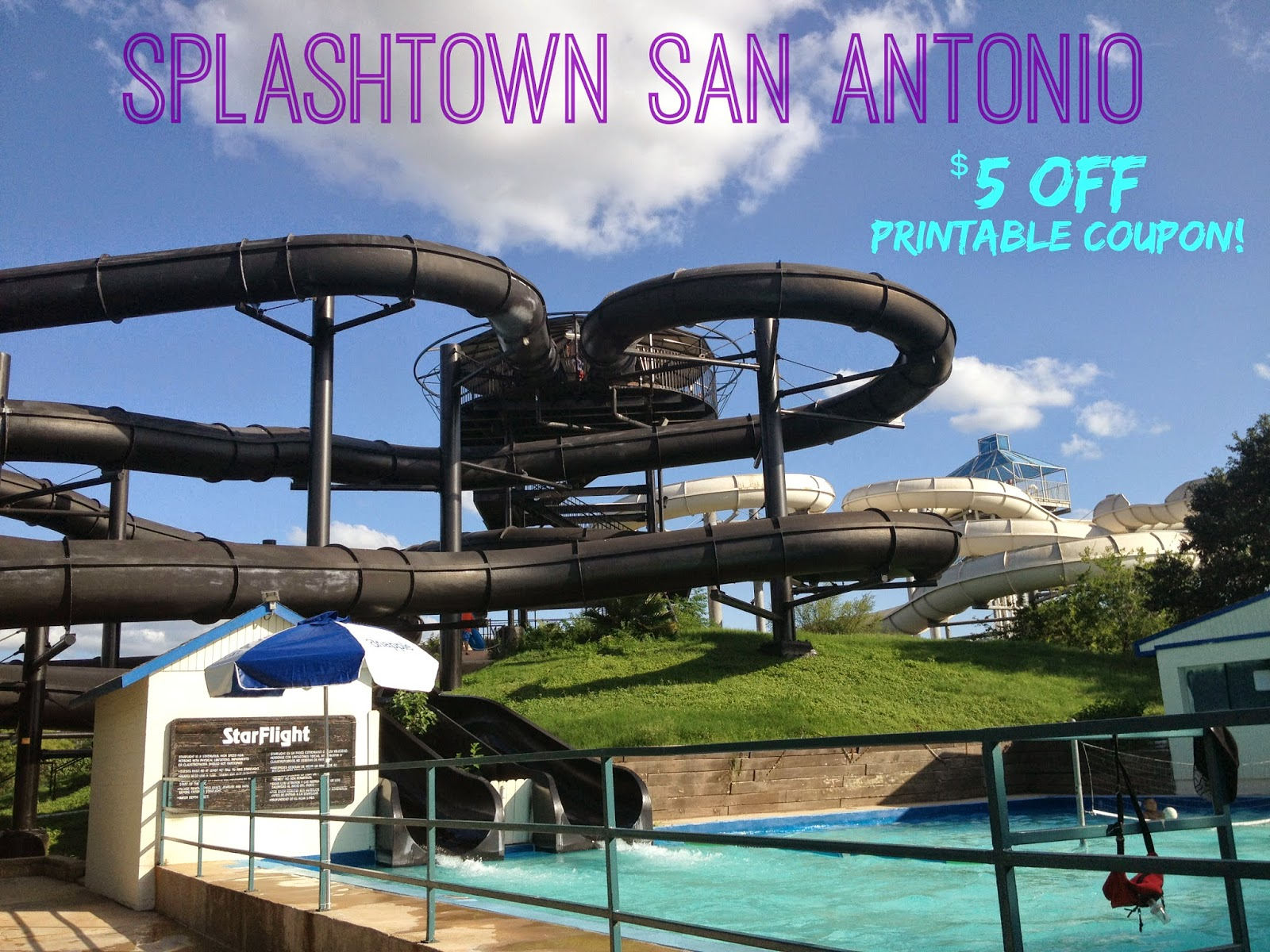 $5 off Splashtown Printable Coupon for Summer 2014