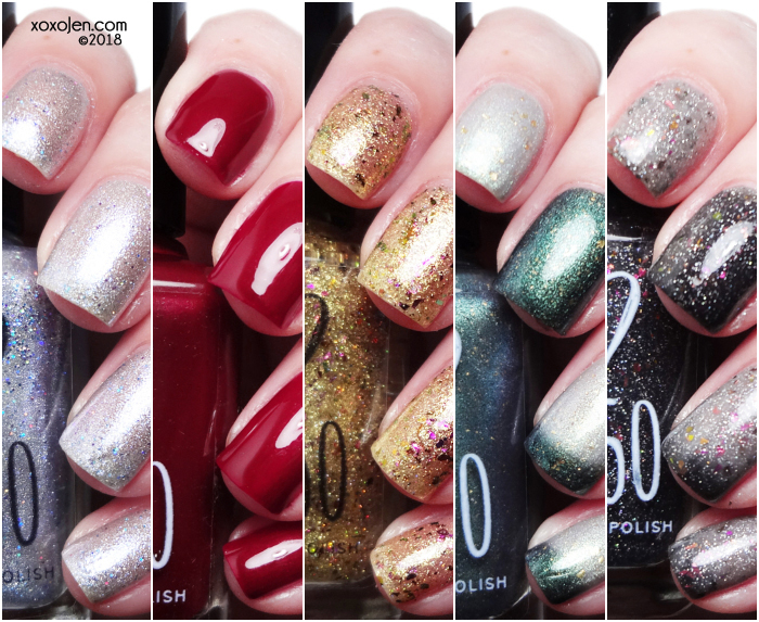 xoxoJen's swatch of 1850 Artisan Holiday 2018